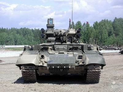 BMPT BMP-T tank support infantry fighting combat armoured vehicle technical data sheet information U
