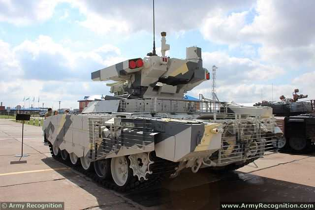 BMPT 72 Terminator 2 Tank Support Armoured Fighting