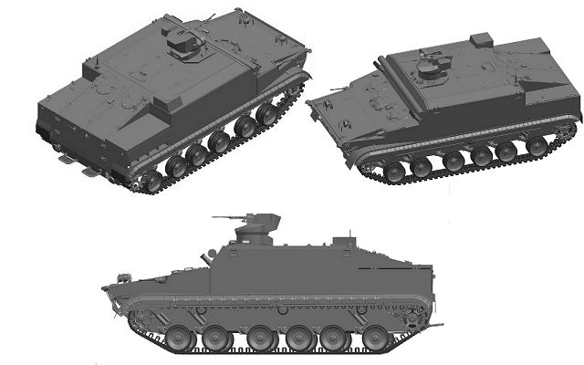 BT-3F tracked amphibious APC armoured personnel carrier technical data sheet specifications pictures video information description intelligence identification photos images Russia Russian Military army defence industry military technology equipment