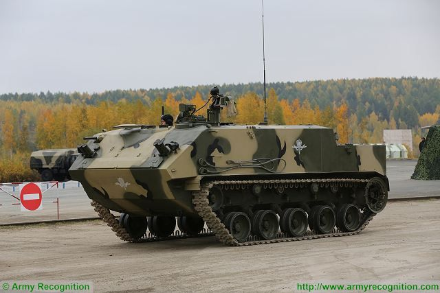 Russia is testing an antitank robotic system based on the BTR-MDM armored personnel carrier, Russian Airborne Force Commander Vladimir Shamanov said on Thursday, January 21, 2016.