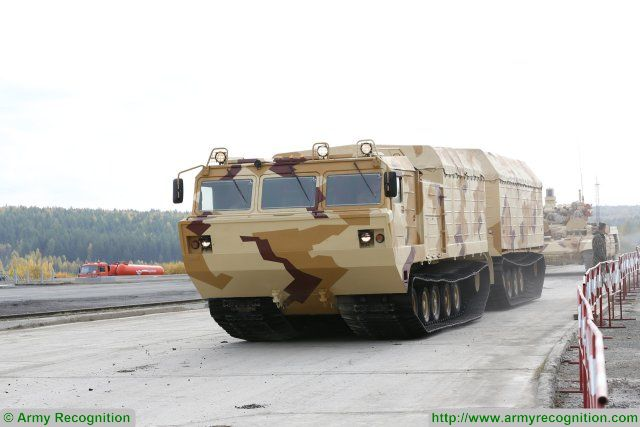 DT-30PM amphibious all-terrain tracked carrier vehicle technical data sheet specifications pictures video information description intelligence identification photos images Russia Russian Military army defence industry military technology equipment