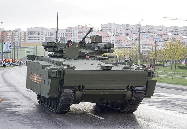Kurganets-25 BMP AIFV Armoured Infantry Fighting Vehicle Russia Russian army military equipment 640 006