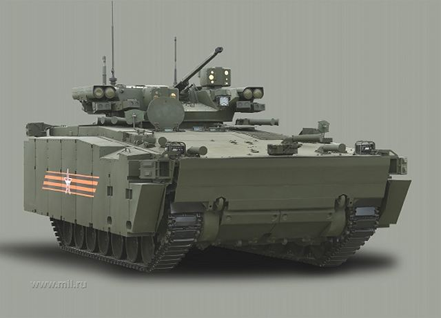Kurganets 25 Bmp Kurganets Aifv Armoured Infantry Fighting Vehicle Technical Data Sheet Pictures