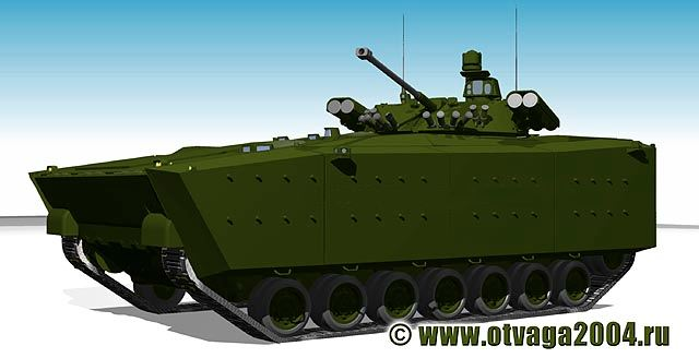 The Russian army ground forces plan to renew 70% of its fleet with new armoured and main battle tanks for 2020, said the spokesman of the Russian Ministry of Defense, Major Kiril Kiselev. He added that Russia will acquire the new main battle tank Armata, the wheeled armoured Boomerang and the new infantry fighting vehicle Kurganets-25.