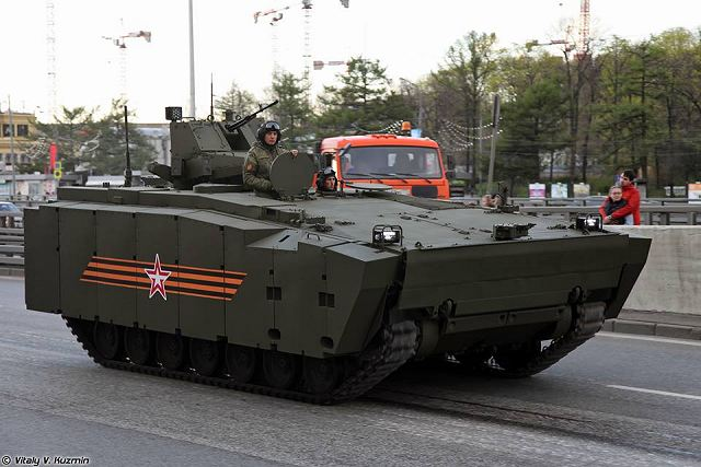 Kurganets-25 BTR tracked armoured vehicle personnel carrier Russia Russian army military equipment 640 001
