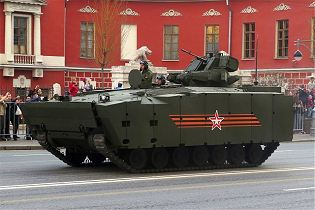 Kurganets -25 BTR armoured vehicle personnel carrier technical data sheet specifications pictures video intelligence description information identification Russia Russian army military equipment defense industry