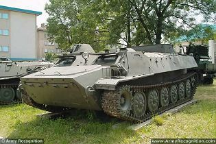 MT-LB multipurpose tracked armoured vehicle technical data sheet specifications information description pictures photos images video intelligence identification Russia Russian Military army defence industry military technology equipment