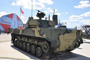 2S25M Sprut-SDM1 self-propelled anti-tank gun tracked armoured technical data sheet specifications pictures video information description intelligence identification photos images Tractor Plants Russia Russian Military army defence industry military technology equipment