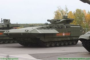T-15 BMP Armata AIFV tracked armoured infantry fighting vehicle Russia Russian army left side view 003