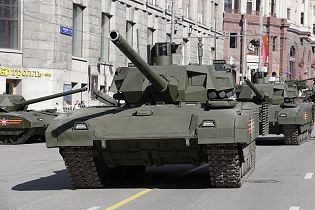 T-14 Armata main battle tank Russia Russian army defence industry military technology 640 front side view 003