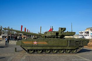 T-14 Armata main battle tank Russia Russian army defence industry military technology 640 left side view 003