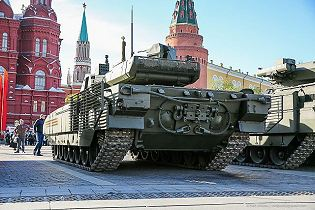 T-14 Armata main battle tank Russia Russian army defence industry military technology 640 rear side view 003