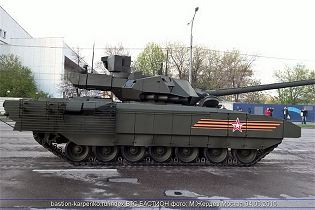 T-14 Armata main battle tank Russia Russian army defence industry military technology 640 right side view 003
