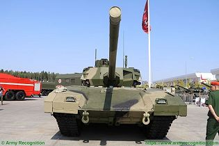 T 14 Armata main battle tank Russia Russian army defence industry military technology front view 004