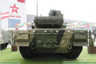 T 14 Armata main battle tank Russia Russian army defence industry military technologyrear view 004