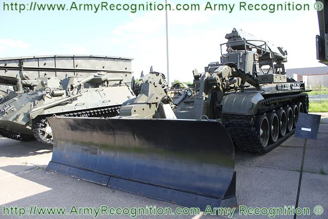 Russian army IMR-2 Enginneer tracked armoured vehicle
