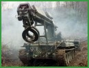 IMR engineer obstacle clearing armoured vehicle technical data sheet specifications information description pictures photos images intelligence identification intelligence Russia Russian army defence industry military technology heavy armoured vehicle