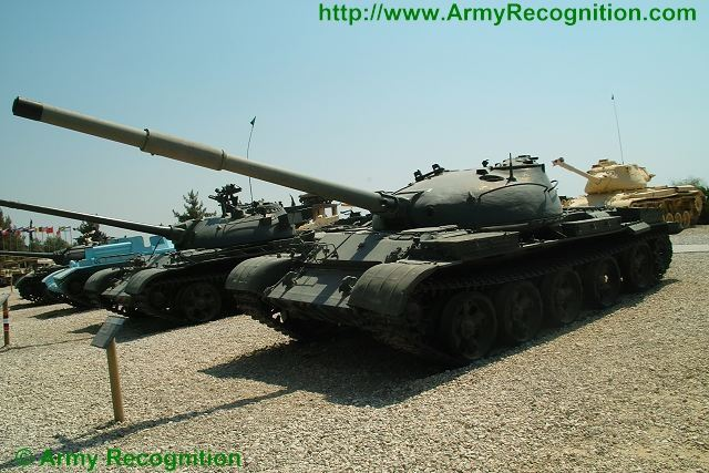 T-62 main battle tank technical data sheet specifications information description pictures photos images intelligence identification intelligence Russia Russian army defence industry military technology Ural truck 6x6