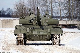 T 62 main battle tank Russia Russian army defense industry military technology 640 front side view 002