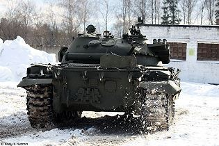 T 62 main battle tank Russia Russian army defense industry military technology 640 rear side view 002