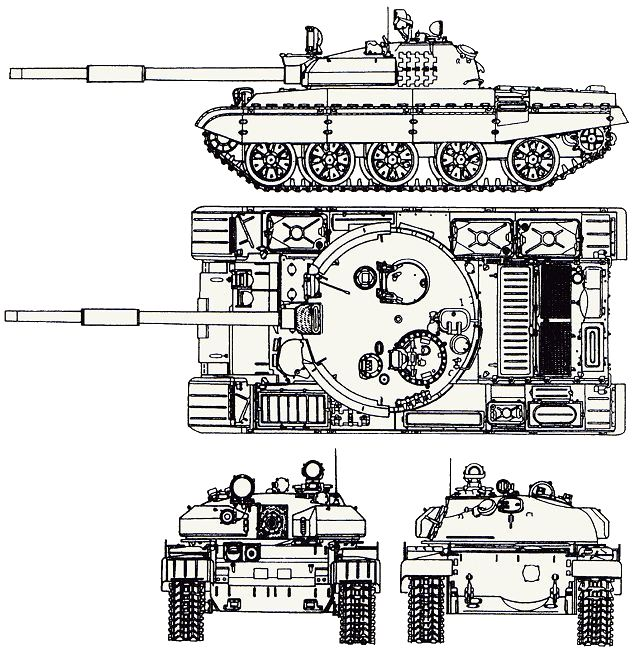 T-62M main battle tank technical data sheet specifications information description pictures photos images video intelligence identification Russia Russian army defence industry military technology equipment