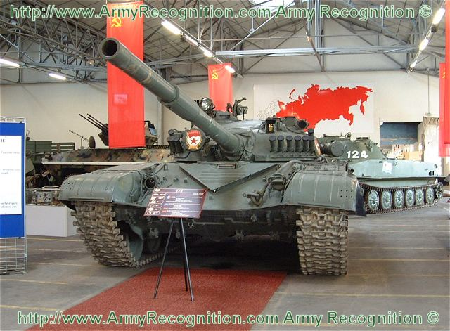T-72A T-72 A main battle tank technical data sheet specifications information description pictures photos images identification intelligence Russia Russian army defence industry