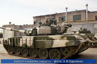 T-72B MBT main battle tank technical data sheet specifications pictures video  information description intelligence identification photos images Russia Russian Military army defence industry military technology equipment