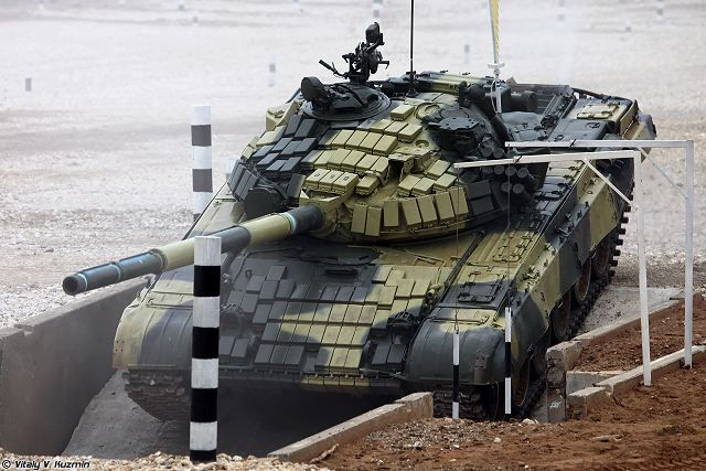a7e409088466 Upgraded Russian-made T-72 main battle tanks deliver to foreign ...