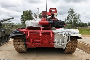 T-72B3M T-72B4 main battle tank technical data sheet specifications information description pictures photos images video intelligence identification Russia Russian Military army defence industry military technology equipment