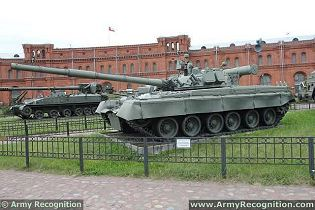 T-80 T80 main battle tank data sheet information description pictures specifications photos images identification intelligence Russia Russian army military vehicle heavy tracked armoured vehicle