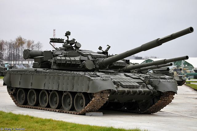 T-80BV MBT main battle tank technical data sheet specifications pictures video information description intelligence identification photos images Russia Russian Military army defence industry military technology equipment