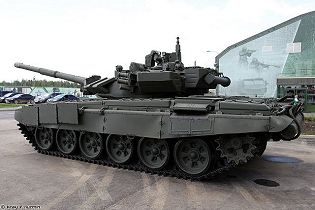 T 90 main battle tank Russia russian army defence industry military technology left side view 002