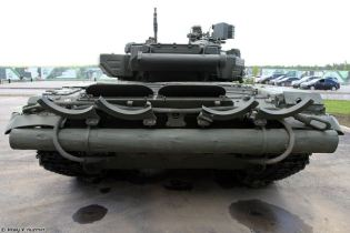 T 90 main battle tank Russia russian army defence industry military technology rear view 002
