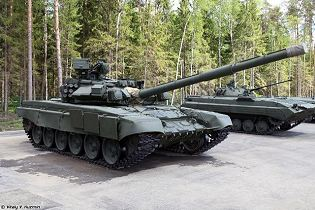T 90 main battle tank Russia russian army defence industry military technology right side view 002