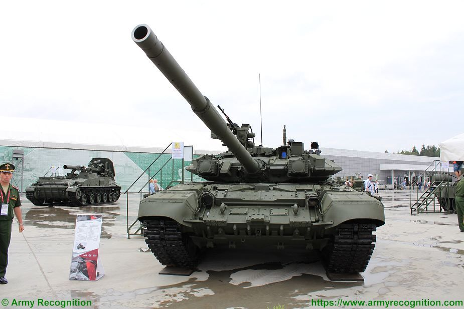 T 90A main battle tank Russia Russian army military equipment defense induystry 925 001