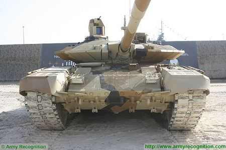 T 90MS MBT Main Battle Tank Russia Russian army defense industry front view 450 002