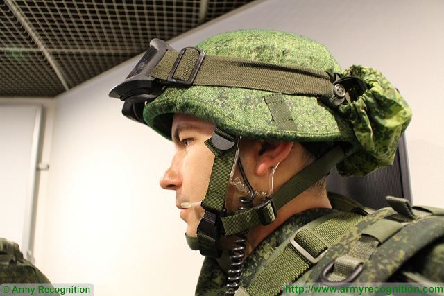 The 6B47 helmet, produced by TsNIITochMash, will be part of Ratnik combat gear.