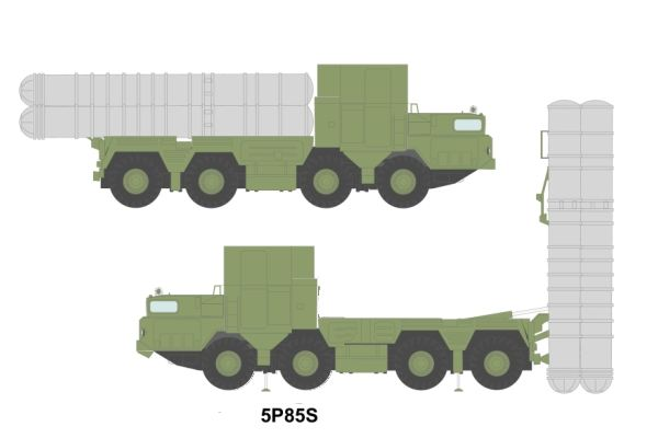 5P85S S-300 PS SA-10B Grumble B long range surface-to-air missile technical data sheet information description pictures photos images intelligence identification Russian army Russia command control vehicle