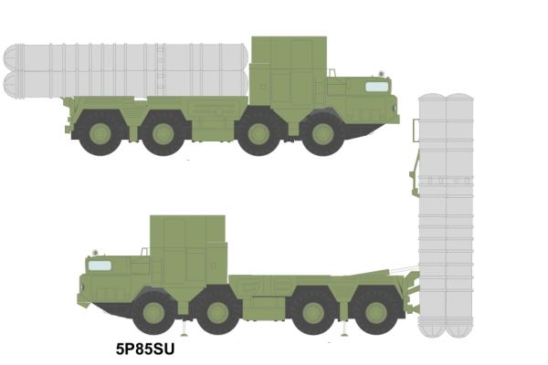 5P85SU S-300 PMU surface to air missile technical data sheet information description pictures photos images intelligence identification Russian army Russia air defense system Grumble C command and control vehicle