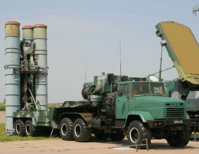 5P85T S-300 PM SA-10C surface to air missile technical data sheet information description pictures photos images intelligence identification Russian army Russia air defense system launcher vehicle with trailer KRAZ-260