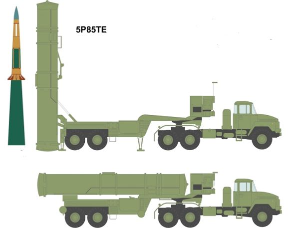 S 300 Pmu Sa 10c Grumble C Surface To Air Defense Missile
