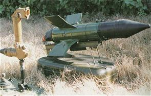 AT-3 Sagger 9K11 Malyutka anti-tank missile technical data sheet specifications information description pictures photos images identification intelligence Russia Russian army defence industry
