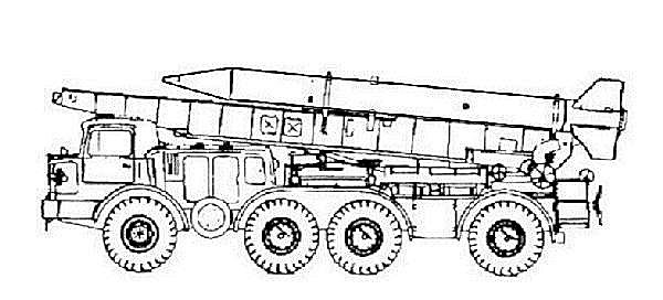 Frog-7 Frog-7b 9K52 9K21 Luna-M short range ballistic missile technical data sheet specifications information description pictures photos images identification intelligence Russia Russian army