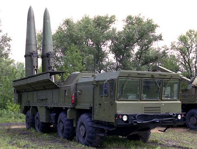 Russian Prime Minister Dmitry Medvedev will hold a meeting in Kolomna in the Moscow Region on Monday, July 23, 2012, to discuss modernizing production facilities for Iskander tactical missile launchers, the government's press office reported on Sunday, July 22, 2012.