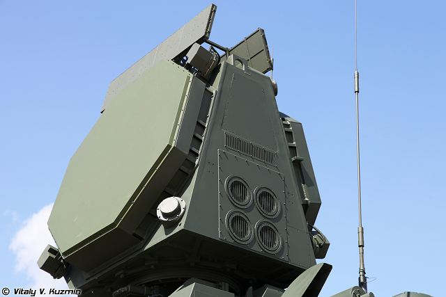 Pantsir-S2 short-range cannon missile air defense system technical ...