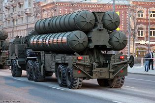 S 400 Triumph triumf 5P85TE2 SA 21 Growler surface to air SAM long range missile defense system Russia Russian amy back view 001