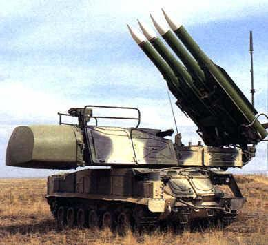 9k37 Buk M1 Sa 11 Gadfly Technical Data Sheet