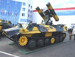 SA-13 Gopher 9K35 Strela-10 technical data sheet specifications information description pictures photos images identification intelligence Russia Russian army ground-to-air missile air defense armoured vehicle