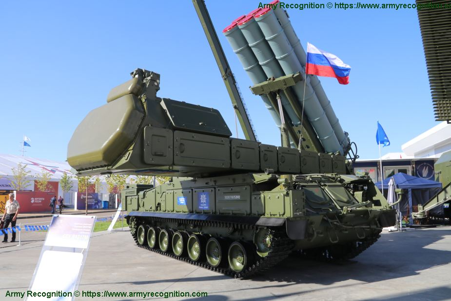 Buk M3 Viking SAM medium range surface to air defense missile system Russia Russian defense industry 925 001