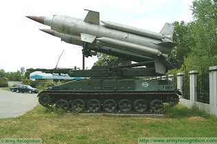 SA-4 Ganef 2K11 Krug air defense missile system technical data sheet specifications information description pictures photos images video intelligence identification Russia Russian Military army defence industry military technology equipment